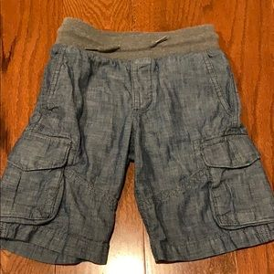 GAP chambray boys shorts